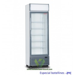 ARMARIO EXPOSITOR REFRIGERADO CON DISPLAY LUMINOSO