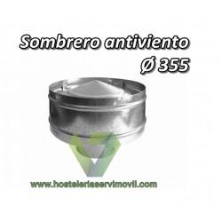 SOMBRERO ANTIVIENTO 355DIAMETRO