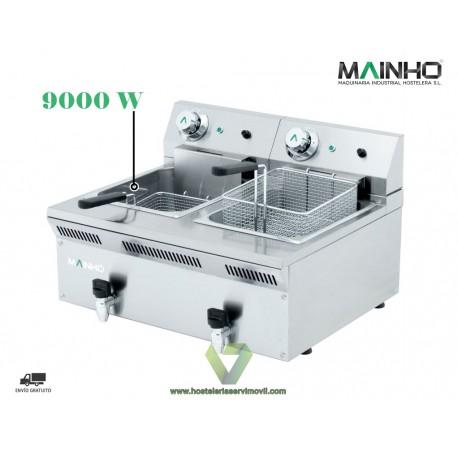 Freidora Eléctrica Industrial Para Gastronomía Profesional 230V 10
