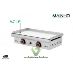 PLANCHA DE CROMO DURO A GAS 75 CM ECO-75CD - MAINHO