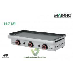 PLANCHA PAVONADA A GAS 95 CM ECO-95PV - MAINHO