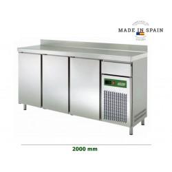 MESA REFRIGERADA FRENTE MOSTRADOR SERIE 600 SFMPS-2000