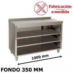 MUEBLE ESTANTERIA CAFETERO CON DOS ESTANTES MTS-100