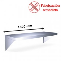 BALDA MURAL DE ACERO INOXIDABLE FC-2L