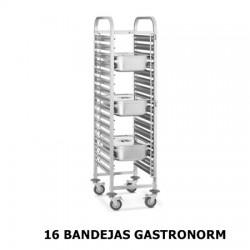 CARRO DE BANDEJAS GASTRONORM 1/1