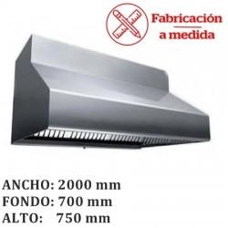 CAMPANAS DE ACERO INOXIDABLE 2.5M