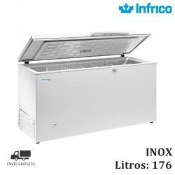 CONGELADOR TAPA ABATIBLE INOX HF 240 I HC INFRICO