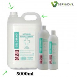 GEL HIDROALCOHÓLICO 5000 ML NATURAL CON GLICERINA